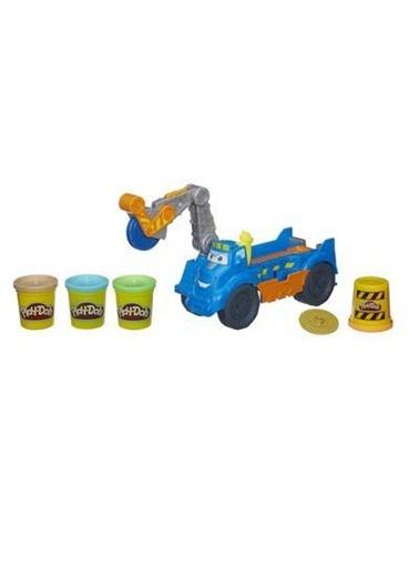 Play Doh İnşaat Kamyonum Buzz-Play-Doh